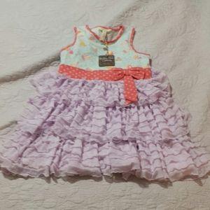 NWT Matilda Jane Girls Ruffle Dress Size